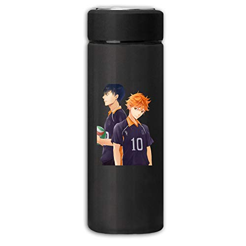 Vacuum Cup Insulated Stainless Haikyuu Shoyo Hinata Tobio Kageyama Water Cup Sports Coffee Travel Mug Thermos Cup 350ml