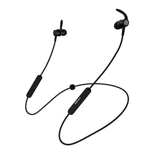 Noise Tune Sport Bluetooth Neckband Earphones [with Mic] (Midnight Black)