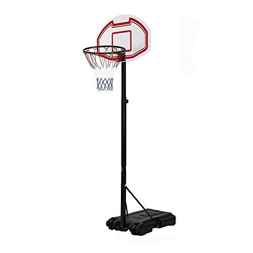 XINGLIAN Jugendliche Tragbar Basketball-Ständer Höhenverstellbar 165-205cm Basketballkorb Mit Rädern Drinnen Draußen Schießstand Für Kinder