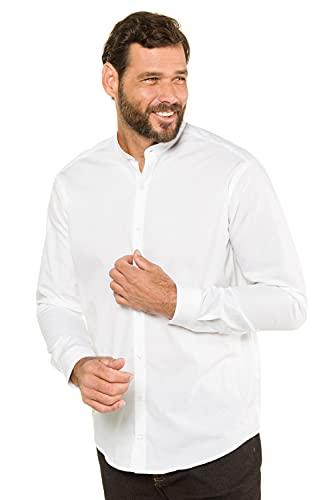 JP 1880 Hommes Grandes Tailles L-8XL Chemise Droite col Mao, Manches Longues Blanc 3XL 718156 20-3XL