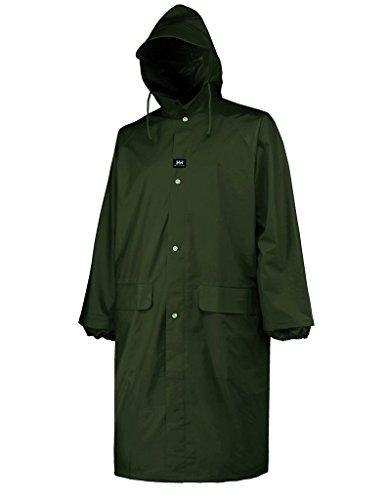 Helly Hansen Workwear Woodland Rainwear Coat, Army Green, L