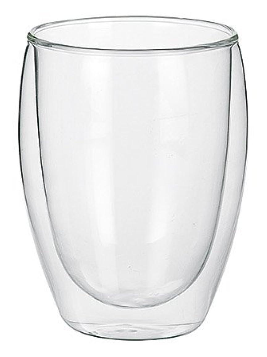 飢えた構築する大騒ぎ300ml ダブルウォールカップ [ グラス/二重/耐熱ガラス食器/軽い/軽量 ]