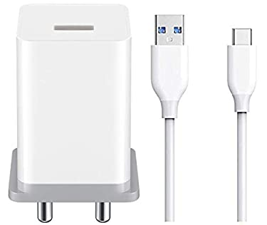 A2Z Shop Fast Type C Charger for New Macbook 12 inch Charger Original Like Adapter Wall Charger   Type-C Charger Cable Fast Charging Mobile Charger   Fast Charger   Android Charger with 1 Meter USB Type-C Charging Data Cable (2.0 Amp, White)