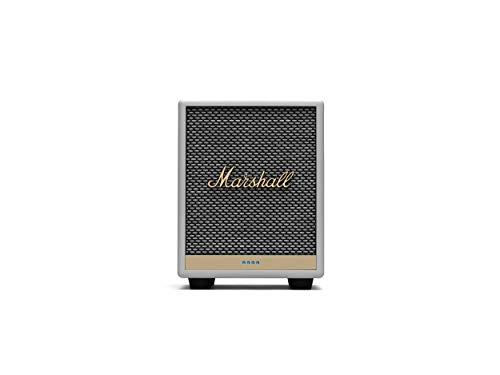 Marshall Uxbridge Home Voice Speaker with Amazon Alexa Built-in, White