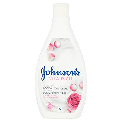 Johnson's Vita Rich Réconfortante Rosas Lotion Corporelle 400 ml
