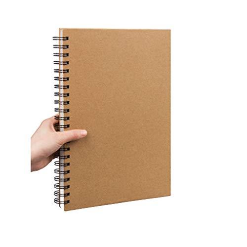 cuadernos de notas Bosquejo del libro - Boceto 14.9 'X10.2', marcadores, de carbón y de los medios de comunicación en seco, hojas - perforado Sketchbook papel de arte for lápices, bolígrafos blocs de