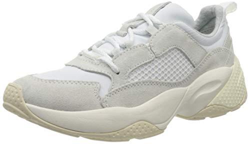 Marc O'Polo Damen 00115233501315 Sneaker, Weiß (Offwhite 109), 38 EU