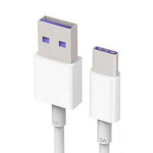 Huawei Super Charge Protocol Datenkabel mit USB Typ-C Anschluss weiß
