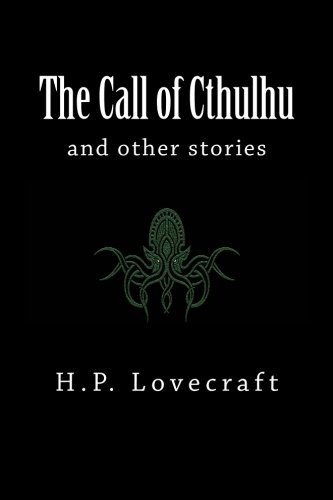 The Call of Cthulhu: and other stories 1976212561 Book Cover