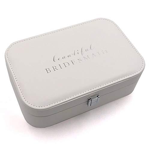 Amore PU Jewellery Box 'Beautiful Bridesmaid'-WWG915