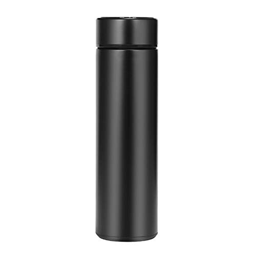 Reisebecher, isolierte Wasserflasche, 500 ml LED-Temperaturanzeige Smart Water Cup, Vakuum-Trinkflaschen aus Edelstahl, heiße und kalte Sport-Trinkflasche zum Radfahren, Fitnessstudio, Zuhause, Büro
