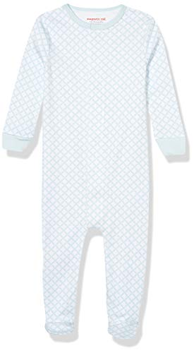 Magnificent Baby unisex baby Footies and Toddler Sleepers, Blue Diamond, 0-3M 8-12 lb US
