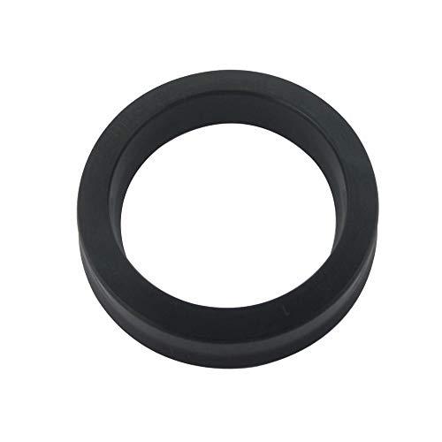NJ-SPRING, Sello de aceite del cilindro sello de aceite Bomba hidráulica 1pc hidráulico de pistón anillo de sellado UPH 155x180x15mm 200x225x15mm Negro NBR a prueba de polvo ( tamaño : 160x185x19mm )