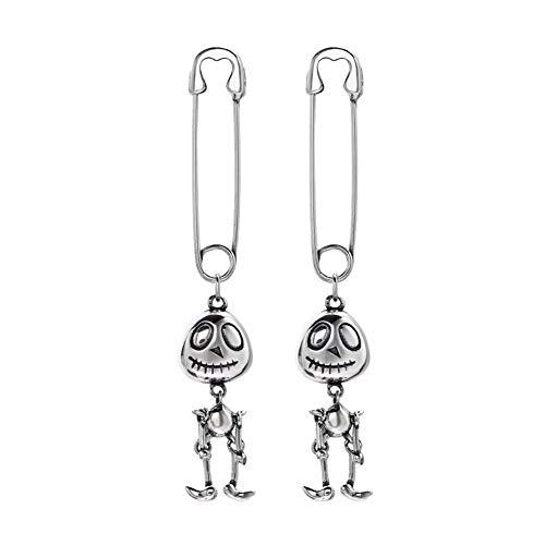 Wbeiba-Oorbellen-Vrouw oorbellen-925 Sterling Zilver Leuke Pin Tweed Oorbellen voor Dames Sieraden