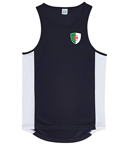 Nation Algerien Trikot Tank Top Athletic Sport Gym ATH BR-SC (XL)
