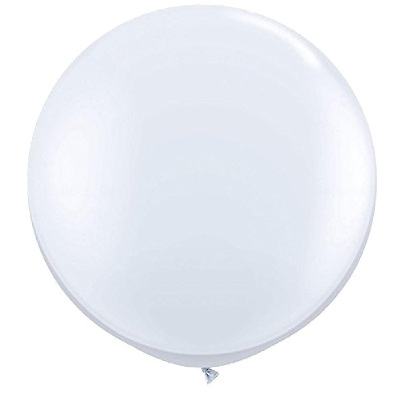 NYKKOLA 36 Inch Giant Latex Balloon (Premium Helium Quality),6 Pack Big White Balloons