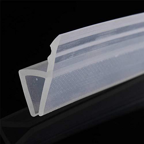 2 Mt 6 / 8Mm Bad Duschwand Türdichtungsstreifen Für Glasdicke Tür Fensterglas Leuchte Zubehör-8Mm