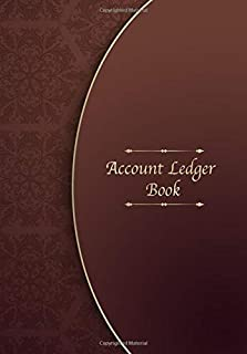 Account Ledger Book: The easiest way to manage Income and Expenditure - Bookkeeping Ledger Cash Book & Notebook for Accounting