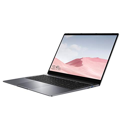 CHUWI HeroBook Plus PC Portable, Intel Celeron J4125 15,6'' FHD 16G RAM 256G SSD 1920x1080 IPS Prend en Charge 1T M.2 SSD, Carte TF 128 Go, 2.4G/5G WiFi, Windows 10, Gigabit Ethernet, HDMI