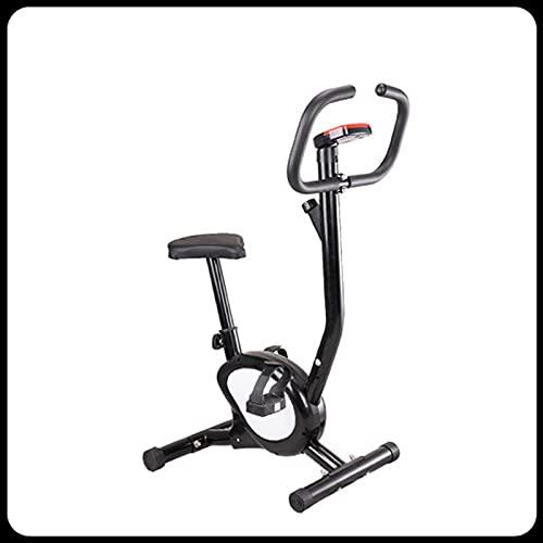 CJDM Bicicletas de Oficina en casa, Bicicletas estáticas giratorias, Equipos de Gimnasia, Bicicletas de Correas, Equipos de Entrenamiento de Gimnasia