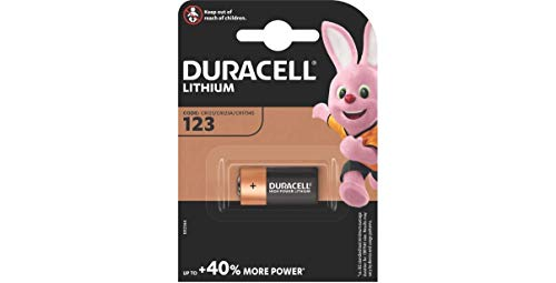 Duracell Lithium Batterie CR123/CR123A/CR17345, 1er Pack