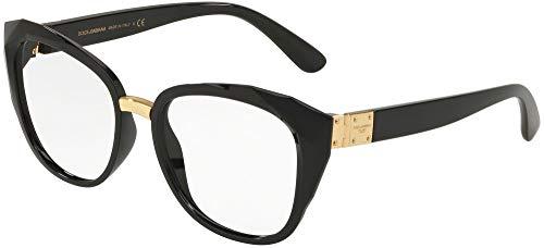 Ray-Ban 0DG5041 Montature, Nero (Black), 51 Donna