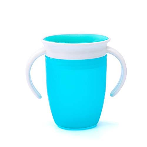 coil.c Taza de aprendizaje para bebé, taza para bebidas, mango doble extraíble, a prueba de fugas, colores relaciones