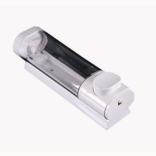YINGTAO22-SHOP Dispensador De Jabón Dispensador de jabón presionado Botella de Gel de Ducha de champú montado en la Pared Elegante Hotel Minimalista Accesorios De Baño