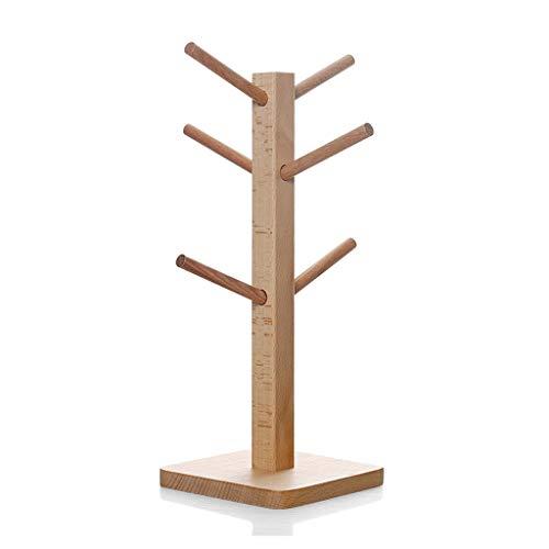 GYDSSH 13 * 34,5 cm Pendientes de árbol de Madera Neckalce Soporte de exhibición Soporte para la decoración de la Tienda de hogar