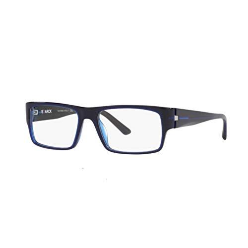STARCK Eyes 0SH3053 MATTE BLUE 55/17/145 Herren Brillen
