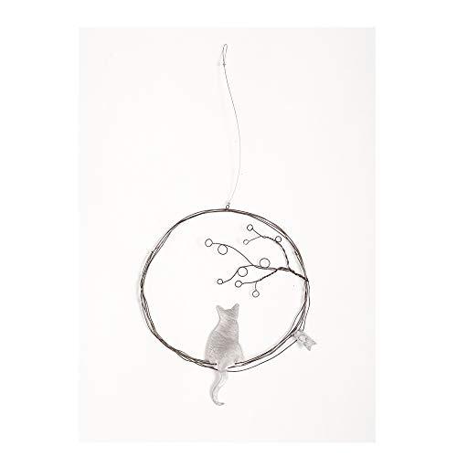 Good old Friends Traum Ornament Katze mit Baum