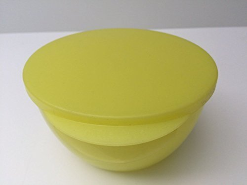 TUPPERWARE Hit parade Dish 470ml kwaliteit glanzend geel voor ophangen Dipping Dipping saus Ophangkom