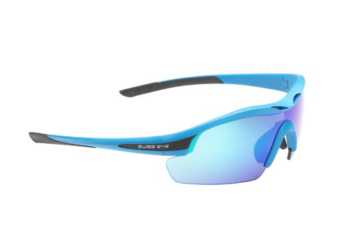 Swiss 12467 Eye Novena - Gafas deportivas, color azul mate y negro