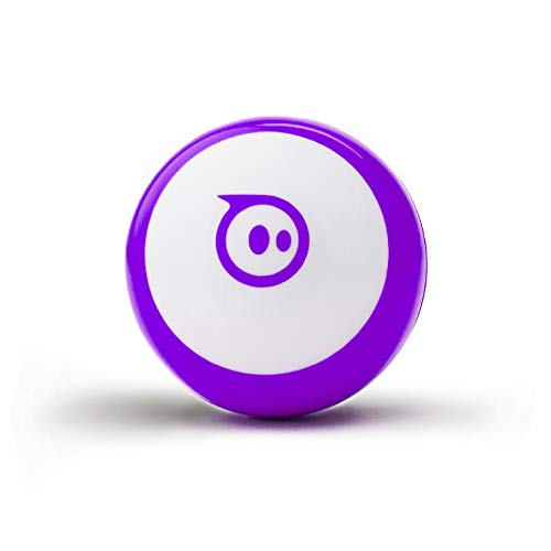 Sphero Mini (Purple) App-Enabled Programmable Robot Ball - STEM Educational Toy for Kids Ages 8 & Up...