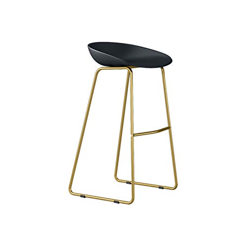 Csq- Taburete de comedor para casa, cojín de polipropileno, silla de bar, cafetería, tienda de bebidas, restaurante, 45/65/75 cm, silla de recepción (tamaño: 45 cm, color: D)