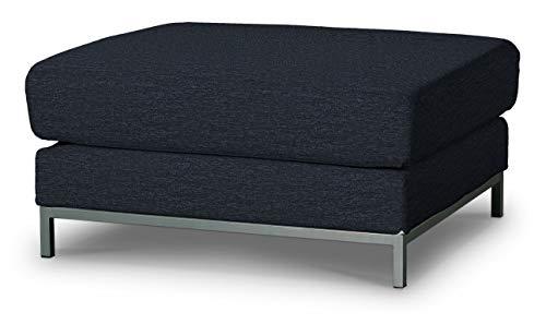 Dekoria Kramfors Hockerbezug Sofahusse passend für IKEA Modell Kramfors anthrazit