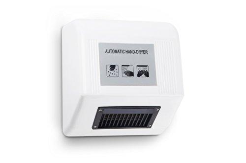 Kenley Auto Secador de Manos Electrónico con Sensor - Diseño Moderno y Delgado Ahorro de Espacio – 1800W