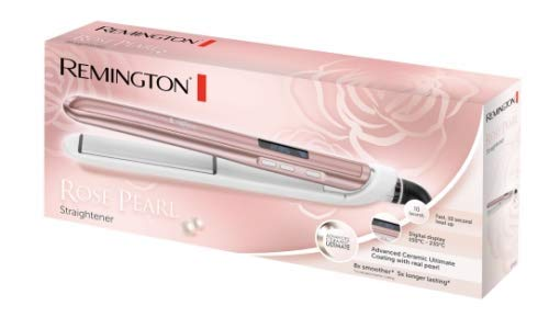 Remington S9505 Glätteisen aus Keramik und Perle - Rosa