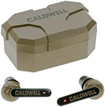 Caldwell E-Max Shadows FDE 23 NRR - Electronic Hearing Protection with Bluetooth Connectivity for Shooting, Hunting, and Range
