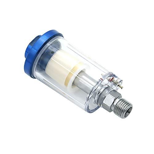 LXH-SH Kraftstofffilter 1 unids Hot 1/4 '' Separador de Aceite de Agua En línea para el compresor Pistola de Pintura Aerosol Filtro de Manguera de Aire Trampa de Humedad