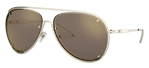 Emporio Armani 0EA2073 Gafas de sol, Pale Gold, 63 para Hombre
