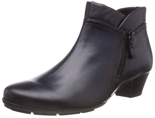 Gabor Shoes Damen Basic Stiefeletten, Blau (River (Effekt) 26), 38 EU