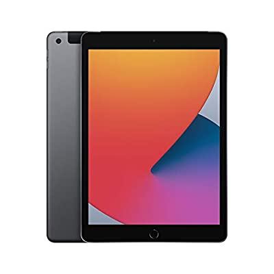 New Apple iPad (10.2-inch, Wi-Fi + Cellular, 32GB) - Space Grey (Latest Model, 8th Generation)