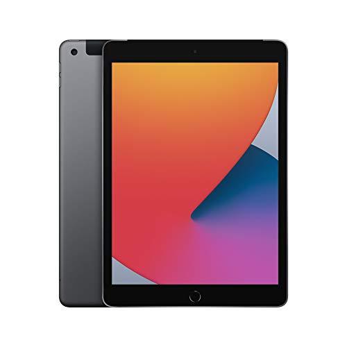 """Novità Apple iPad (10,2"""", Wi-Fi + Cellular, 32GB) - Grigio siderale (Ultimo modello, ottava generazione)"""