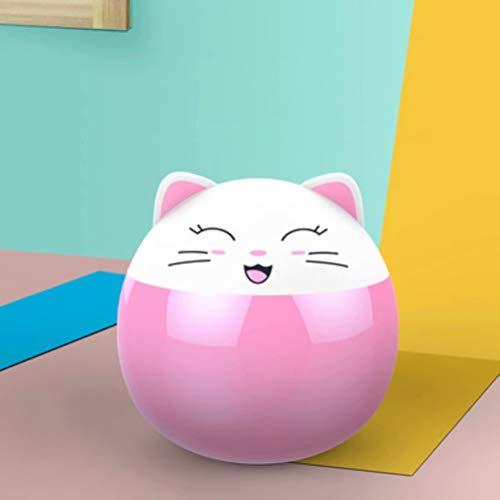 Preisvergleich Produktbild YUEXING Nachtlicht Kreative Cartoon Münzbank Nette Katze Kleine Nachtlampe Kunststoff Sparschwein Relaxation Tropfenresistente Geschenk-Sparkasse