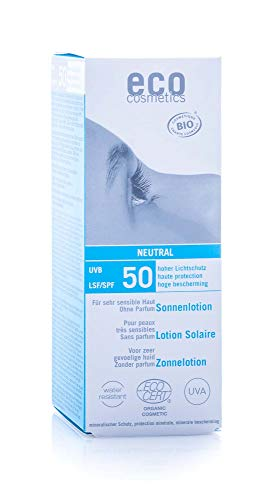 eco cosmetics: Sonnenlotion LSF 50 neutral (100 ml),