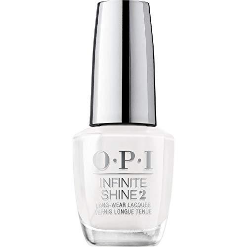 OPI Infinite Shine 2 Long-Wear Lacquer, Alpine Snow, White Long-Lasting Nail Polish, 0.5 fl oz