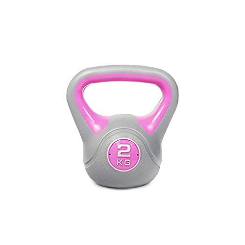 Kettlebell Fitness, mannen en vrouwen Sport Gym Equipment 2kg - 20kg Cast Iron Thuis Fitness Exercise krachttraining neopreen Coated Kettle Bell,2kg