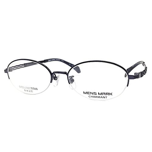 MENS MARK(メンズマーク) メガネ XM5502 53mm 日本製 EXCELLENCE TITAN 形状記憶 (NV(ネイビー))