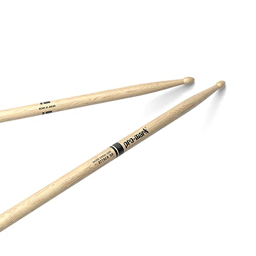 ProMark Classic Attack 5A Shira Kashi Oak Drumsticks, Oval Wood Tip, One Pair